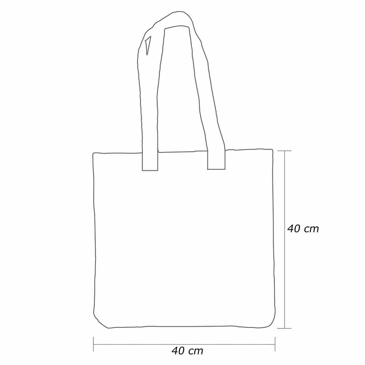 Medidas Sacola Ecobag Personalizada Non-woven