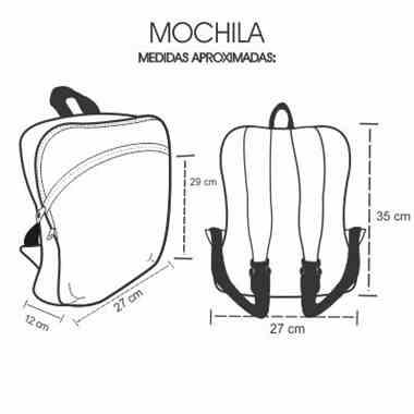 Medidas Mochila Personalizada