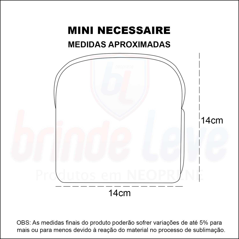 Medidas Mini Necessaire Personalizada