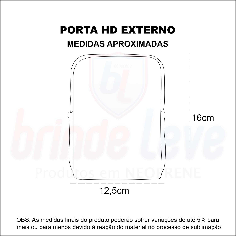 Medidas Porta HD Externo Personalizado