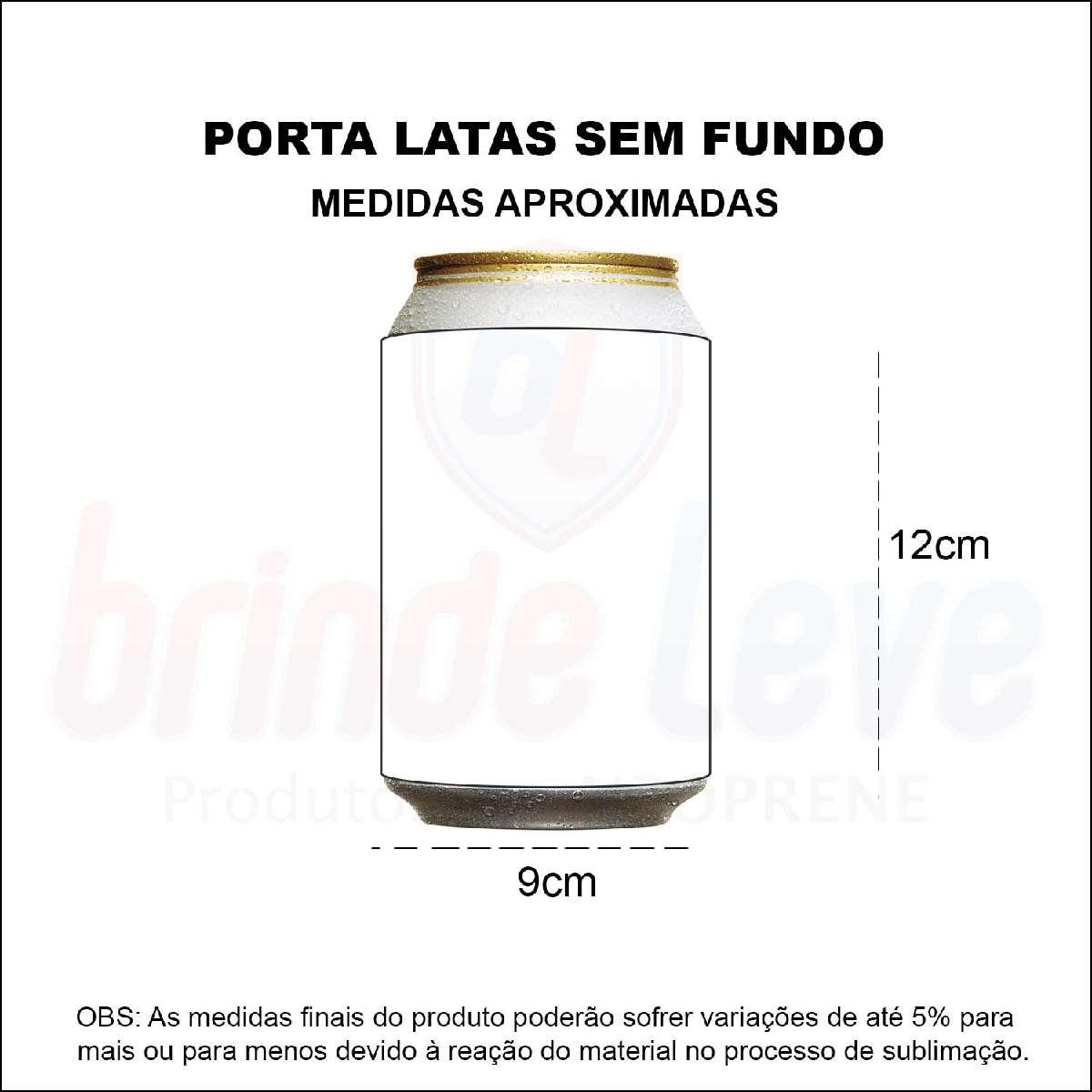Medidas Porta Latas Sem Fundo Personalizado
