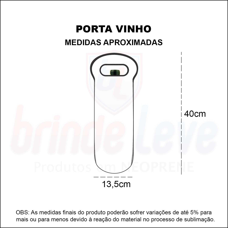 Medidas Porta Vinho Personalizado