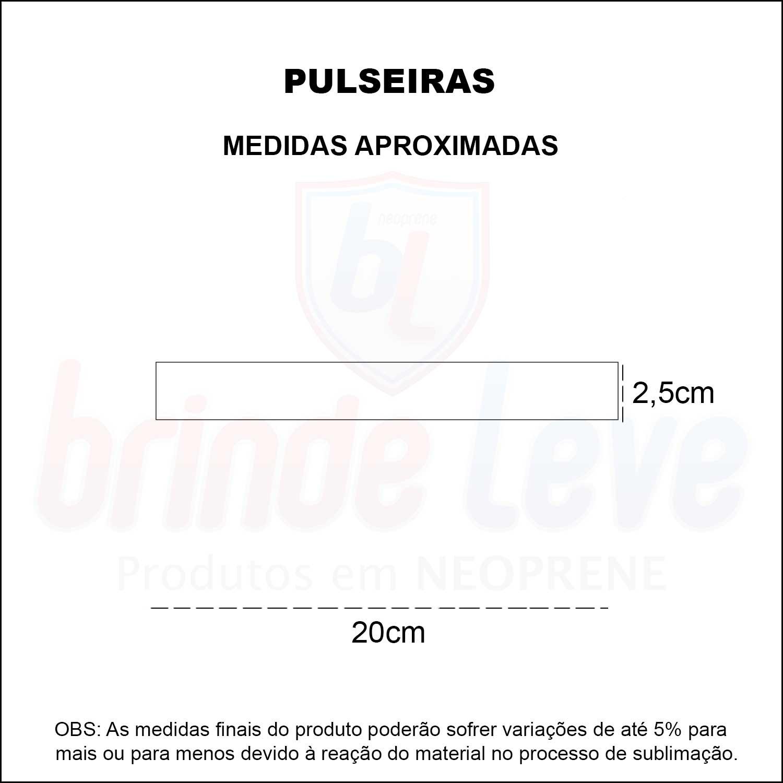 Medidas Pulseiras Personalizadas
