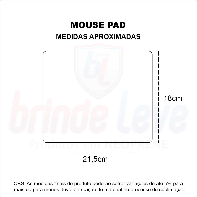 Medidas Mouse Pad Para Sublimação