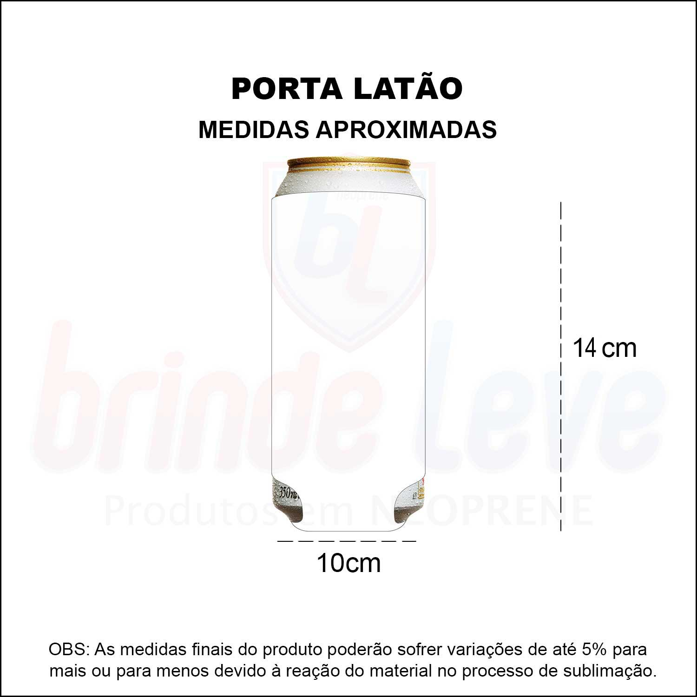 Medidas Porta Latão Personalizado