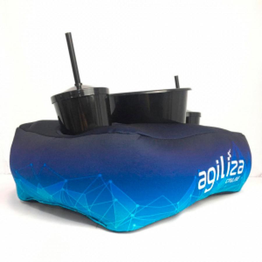 Almofada Porta Pipoca Personalizada - Foto Zoom 1