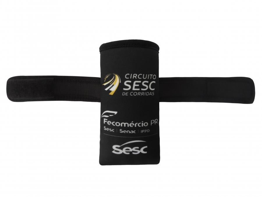 Braçadeira Promocional Viés e Velcro Personalizada - Foto Zoom 1