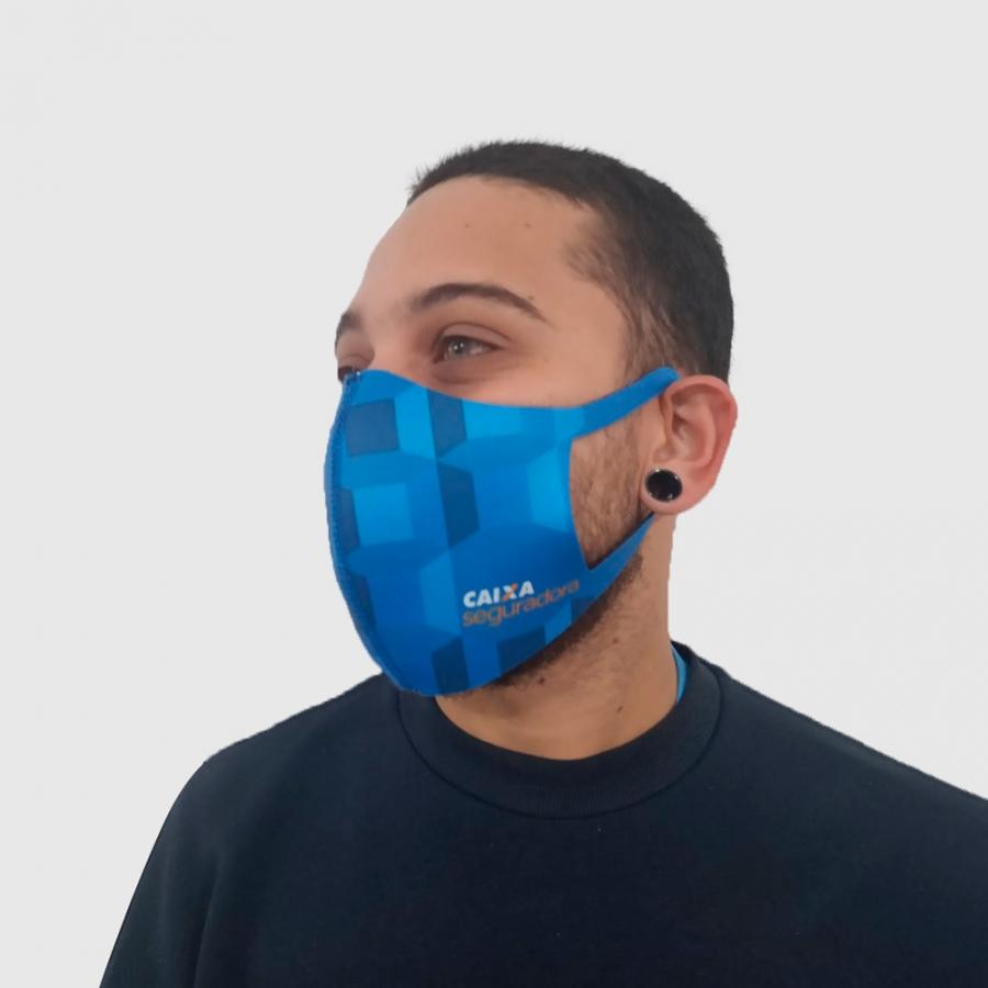 Máscara de Proteção Ninja Personalizada - Foto Zoom 1