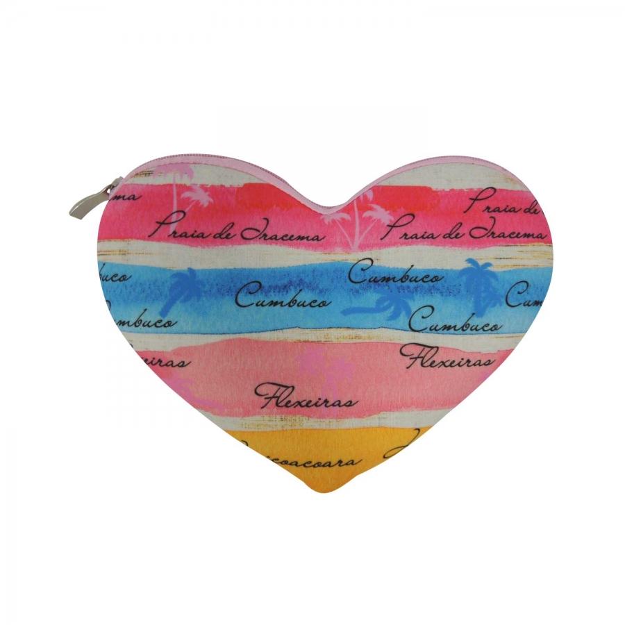 Necessaire Coração Personalizada - Foto Zoom 1