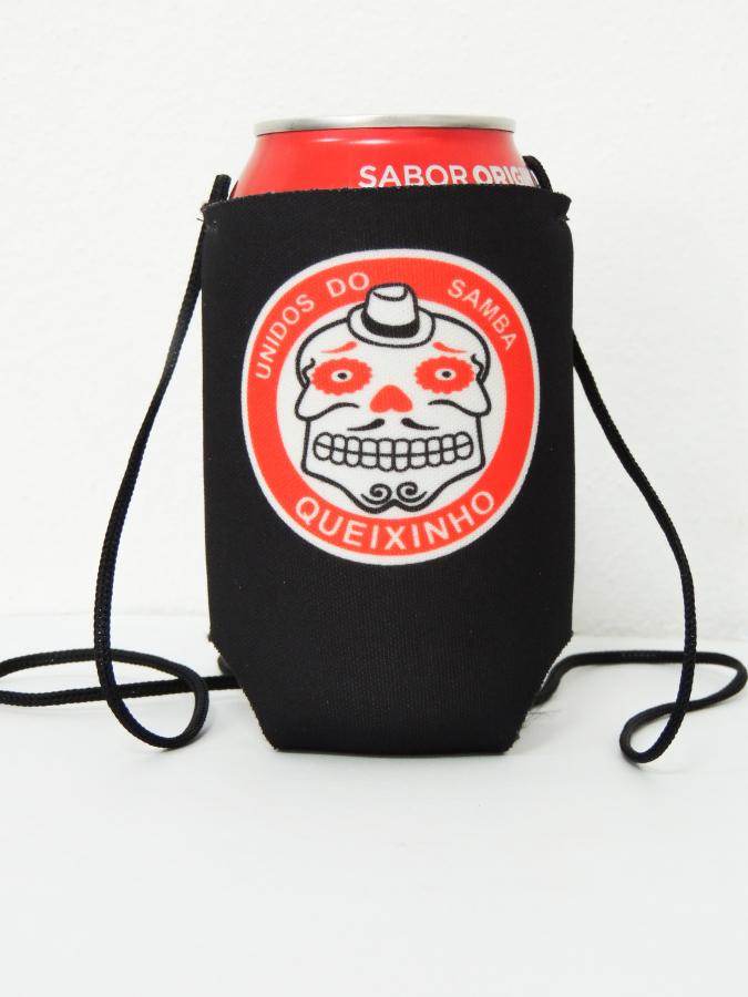Porta latas com cordão Personalizado - Foto Zoom 1