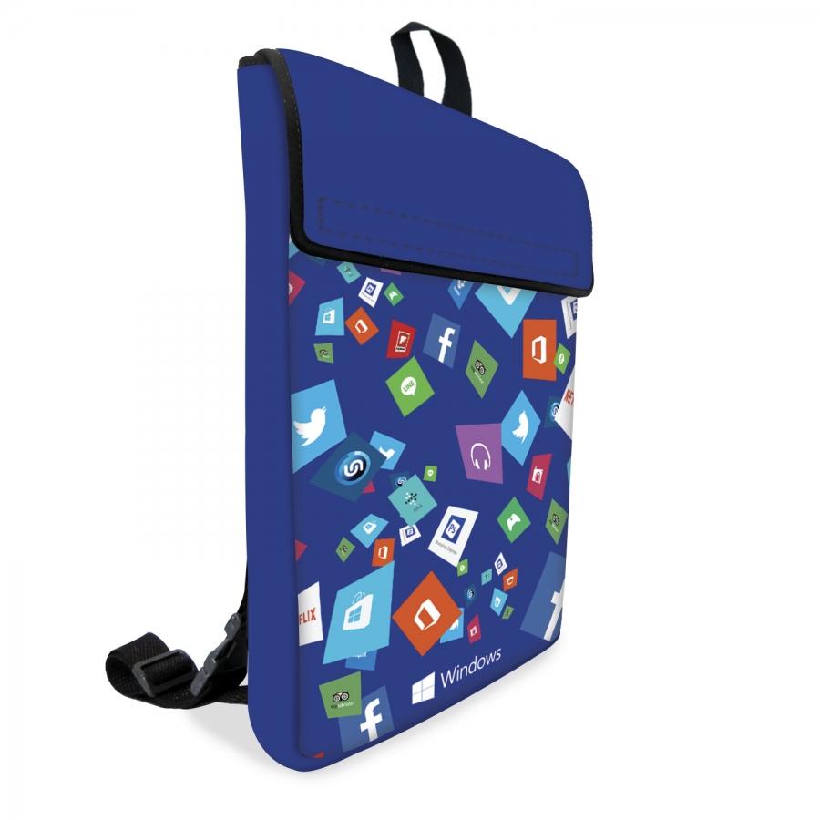 Mochila Notebook em Neoprene Personalizada - Foto Zoom 0