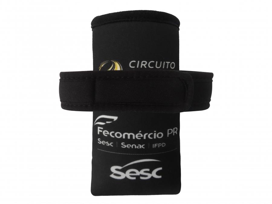 Braçadeira Promocional Viés e Velcro Personalizada - Foto Zoom 2