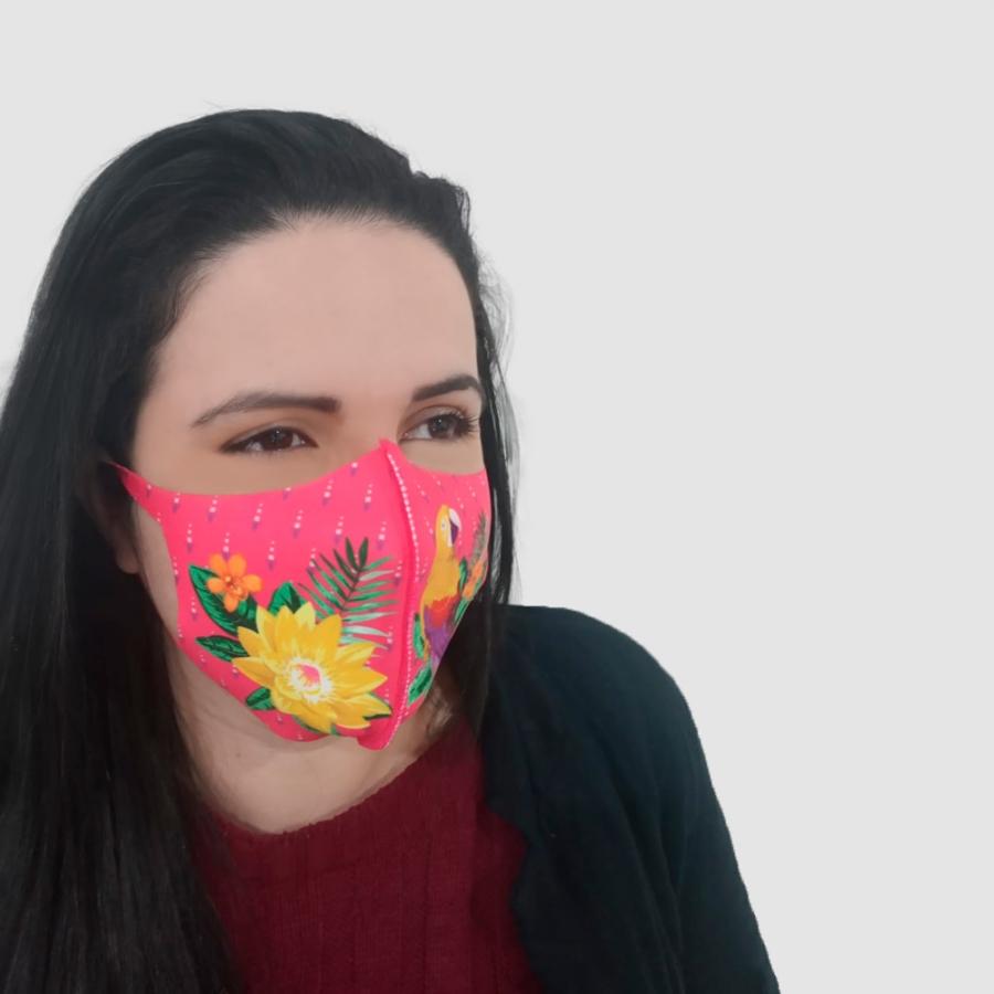 Máscara de Proteção em Helanca - Foto Zoom 0