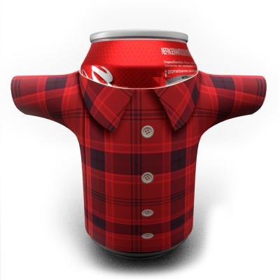 Porta Latas Camisa Personalizado - Foto 1