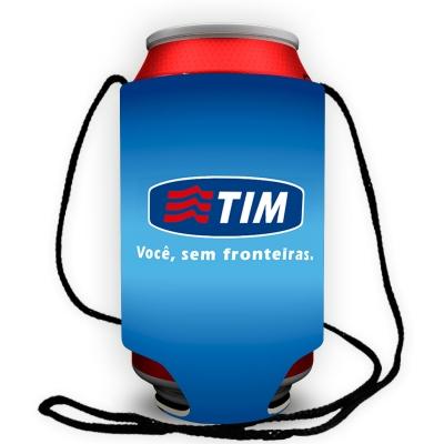 Porta latas com cordão Personalizado - Foto 3