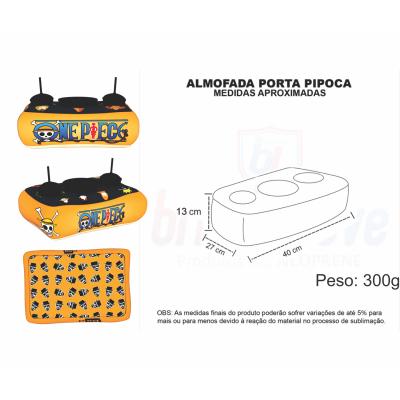 Almofada Porta Pipoca Personalizada - Foto 1