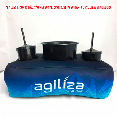 Almofada Porta Pipoca Personalizada - Foto 0
